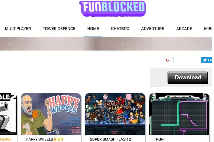 funblocked google sites