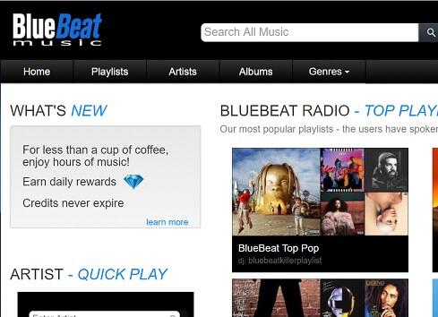 bluesbeat for unblocked music websites